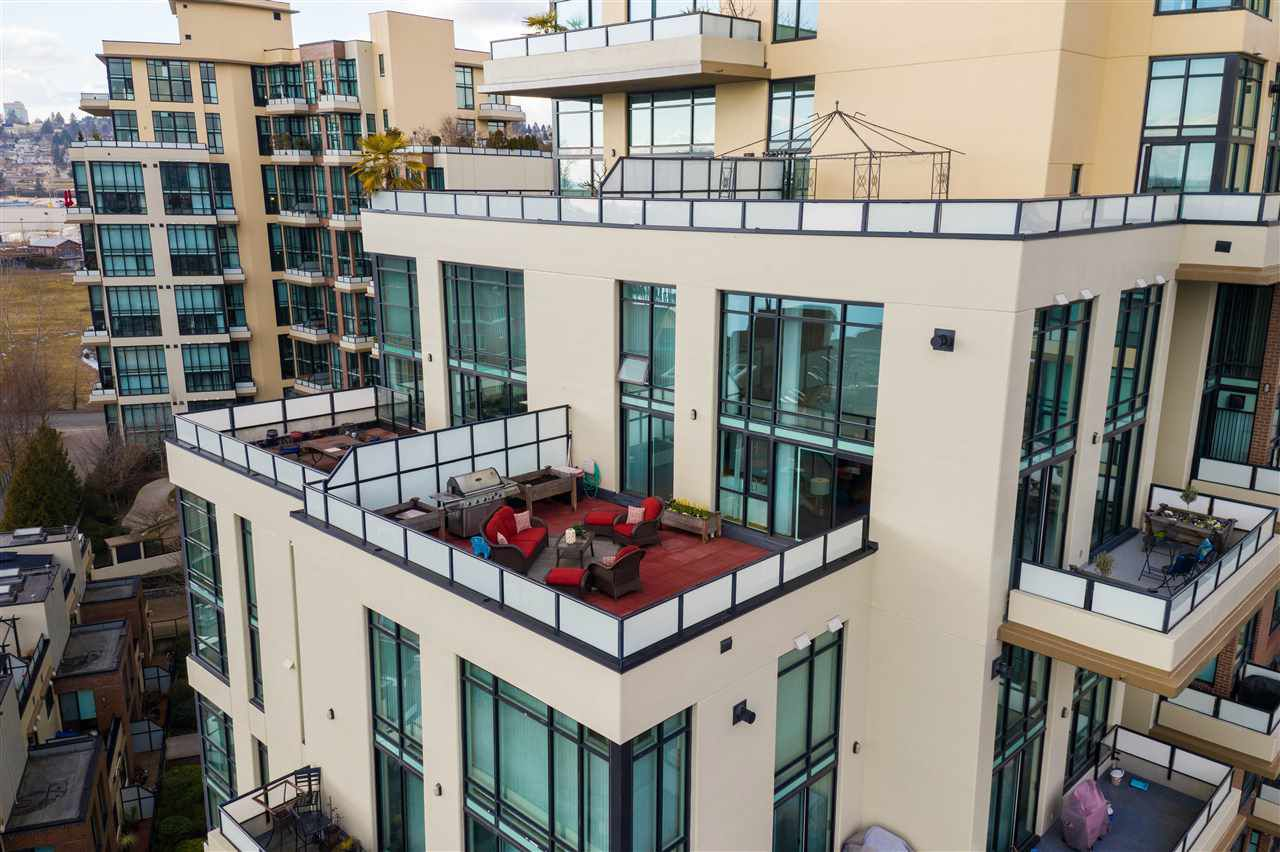 """Main Photo: 505 10 RENAISSANCE Square in New Westminster: Quay Condo for sale in """"MURANO LOFTS"""" : MLS®# R2348656"""