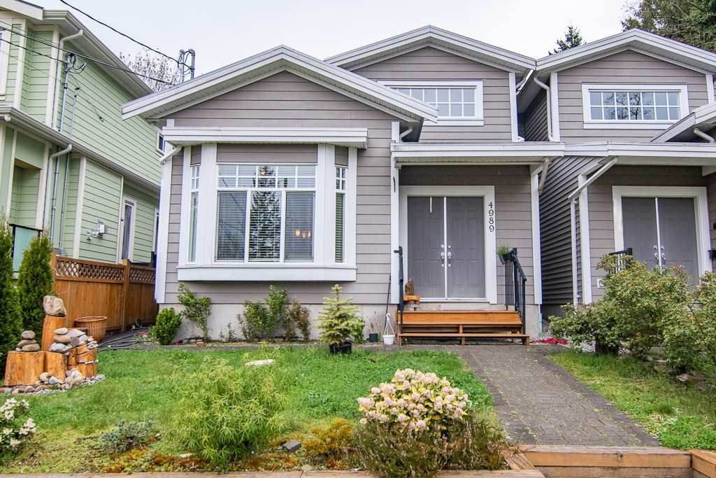 Main Photo: 4989 PORTLAND Street in Burnaby: South Slope House 1/2 Duplex for sale (Burnaby South)  : MLS®# R2356109