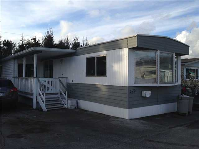 "Main Photo: 269 201 CAYER Street in Coquitlam: Maillardville Manufactured Home for sale in ""WILDWOOD PARK"" : MLS®# V1048740"