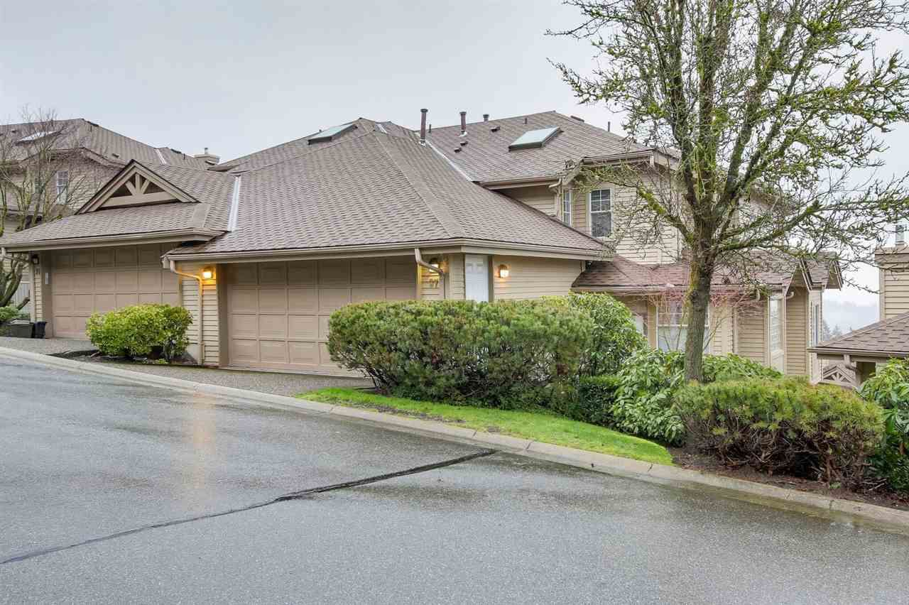 """Main Photo: 37 2979 PANORAMA Drive in Coquitlam: Westwood Plateau Townhouse for sale in """"DEERCREST"""" : MLS®# R2238055"""