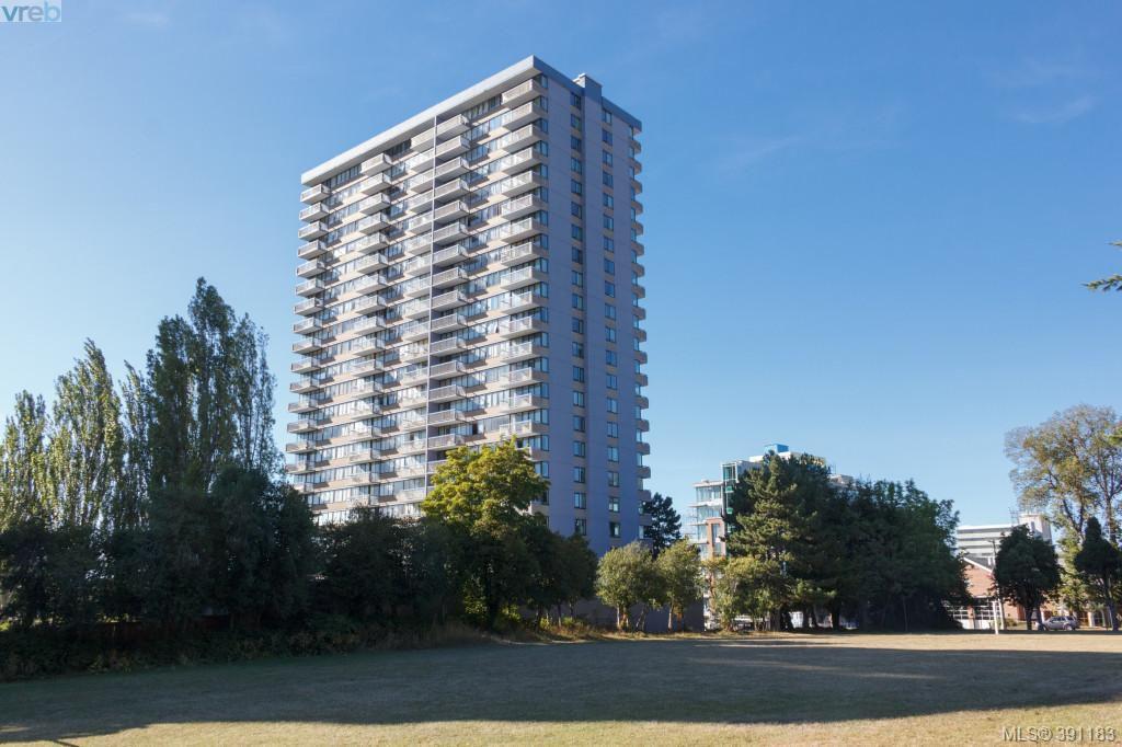 Main Photo: 1105 647 Michigan Street in VICTORIA: Vi James Bay Condo Apartment for sale (Victoria)  : MLS®# 391183
