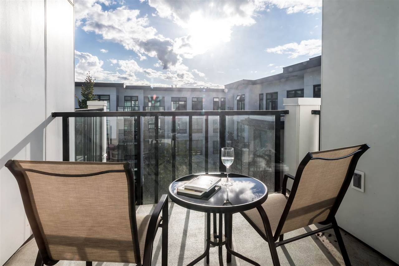 """Main Photo: 412 9388 ODLIN Road in Richmond: West Cambie Condo for sale in """"OMEGA"""" : MLS®# R2295422"""