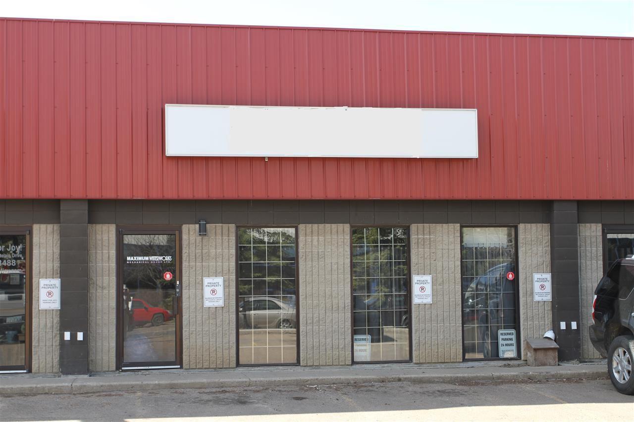 Main Photo: #5 205 Chatelain Drive: St. Albert Industrial for sale : MLS®# E4136465