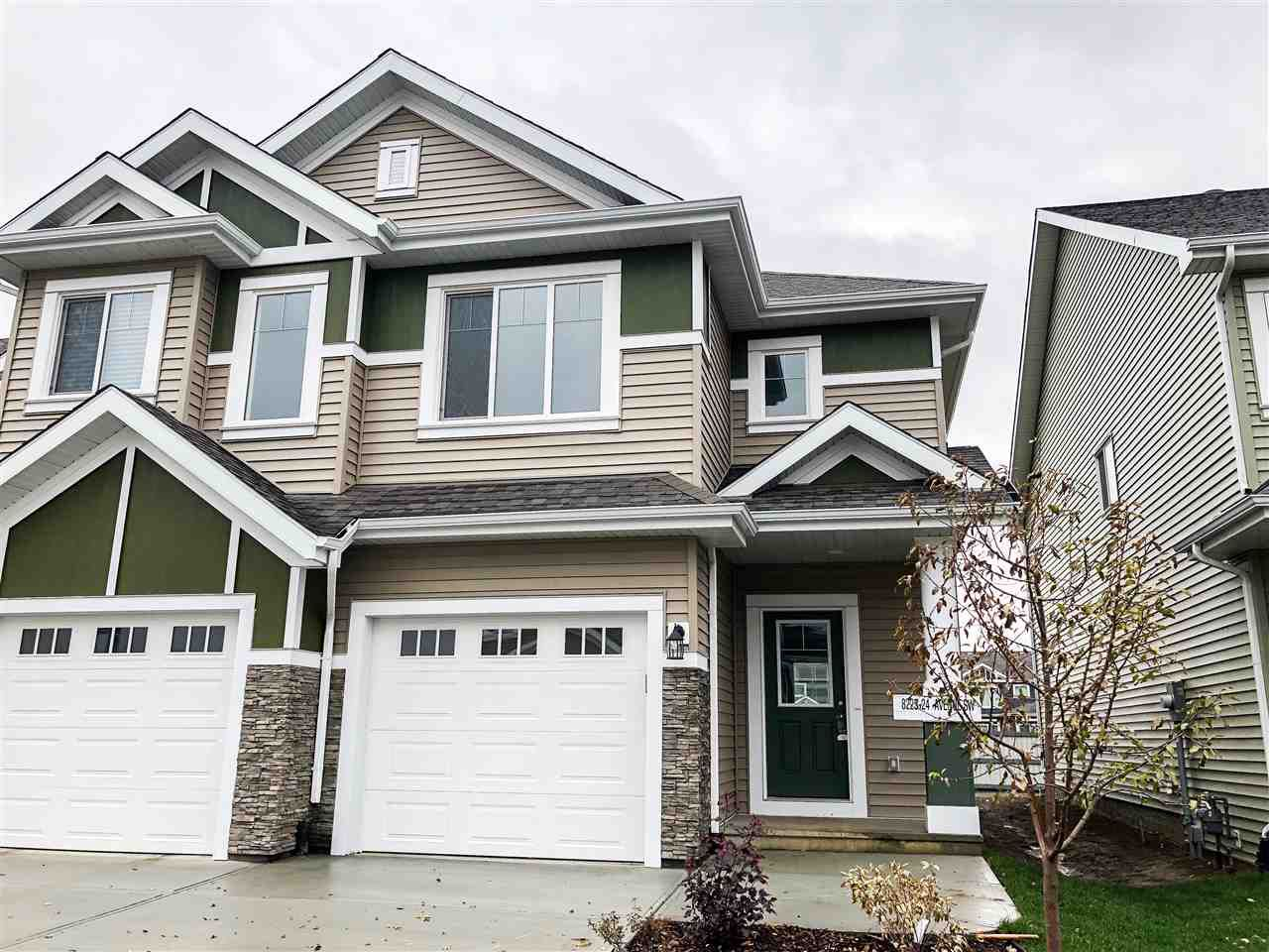 Main Photo: 8225 24 Street in Edmonton: Zone 53 Attached Home for sale : MLS®# E4137086