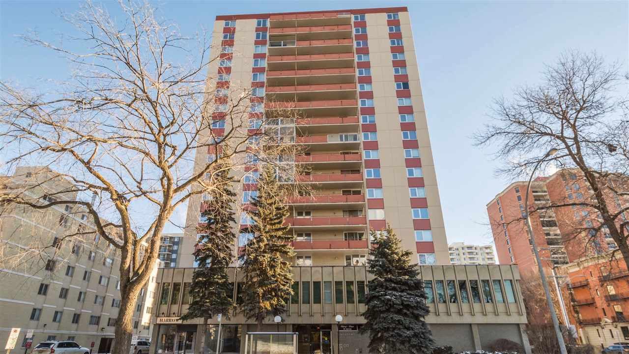 Main Photo: 704 10011 116 Street in Edmonton: Zone 12 Condo for sale : MLS®# E4140353