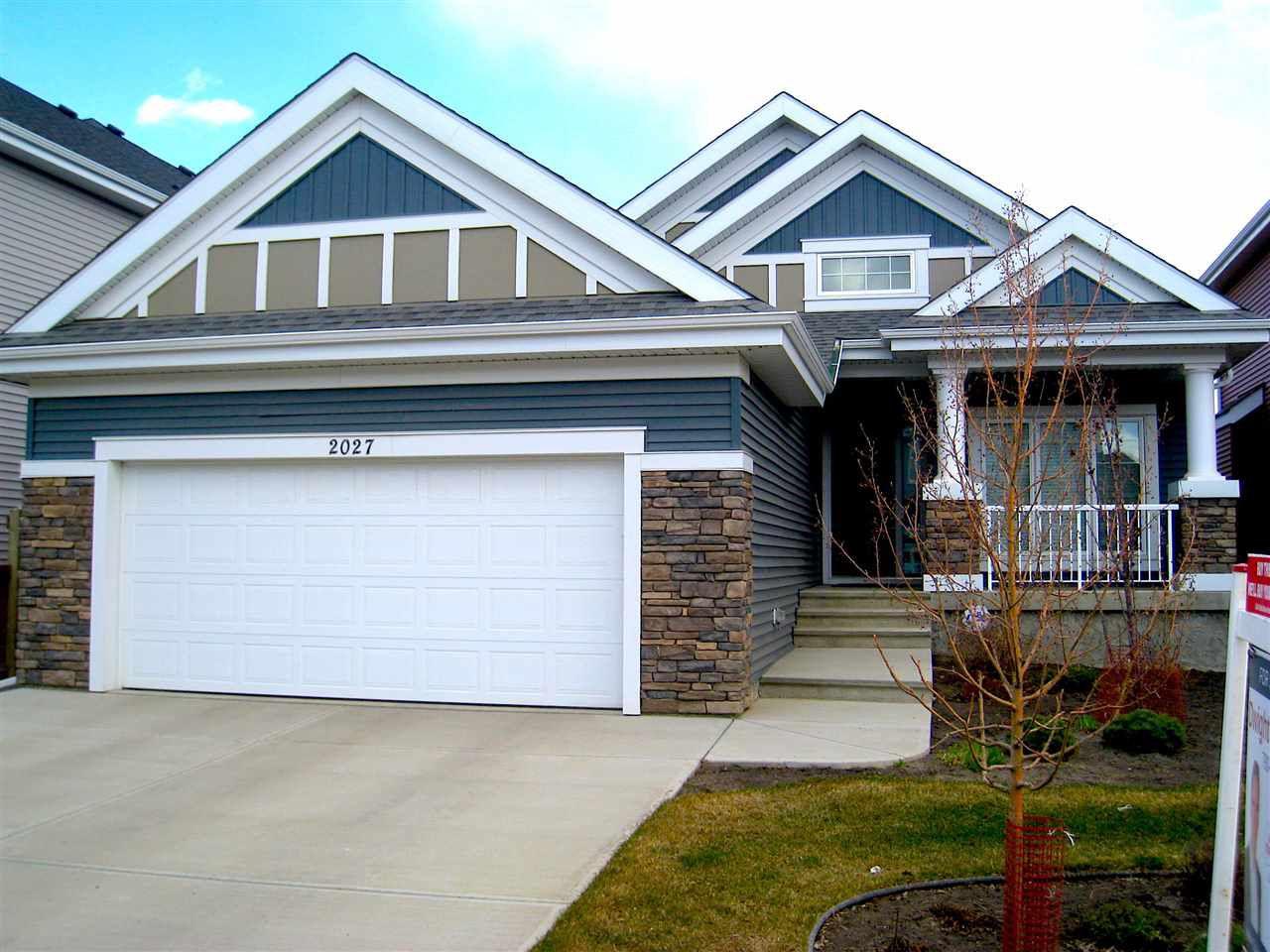 Main Photo: 2027 90 Street in Edmonton: Zone 53 House for sale : MLS®# E4157388