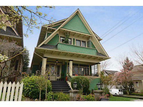 Main Photo: 1504 GRAVELEY Street in Vancouver East: Grandview VE Home for sale ()  : MLS®# V1056766