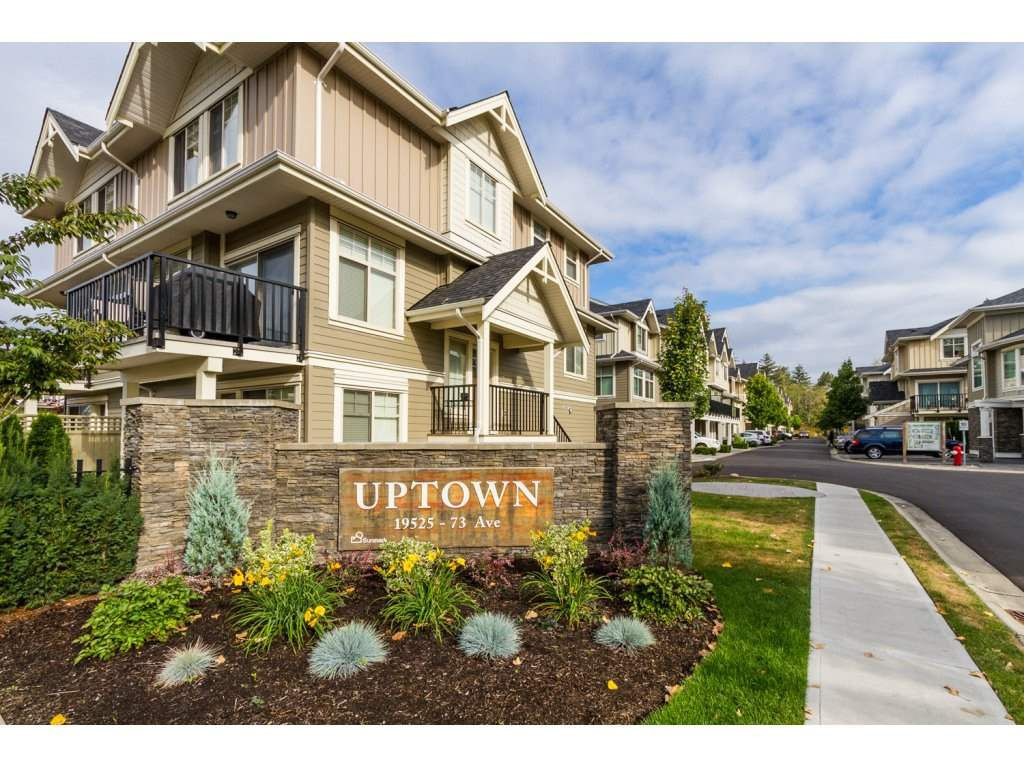 """Main Photo: 32 19525 73 Avenue in Surrey: Clayton Townhouse for sale in """"Uptown"""" (Cloverdale)  : MLS®# R2104532"""
