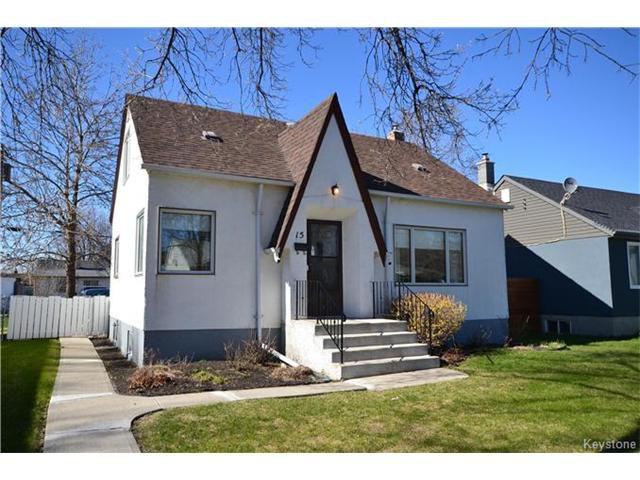 Main Photo: 15 Clonard Avenue in Winnipeg: Residential for sale (2D)  : MLS®# 1710401