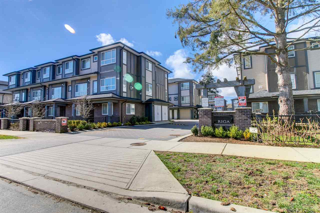Main Photo: 7 7691 BRIDGE Street in Richmond: McLennan North Townhouse for sale : MLS®# R2162572