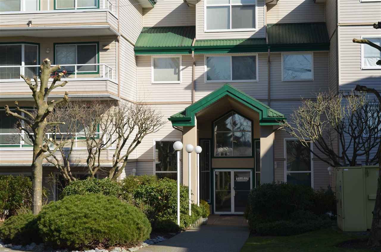 "Main Photo: 220 2750 FAIRLANE Street in Abbotsford: Central Abbotsford Condo for sale in ""THE FAIRLANE"" : MLS®# R2246501"