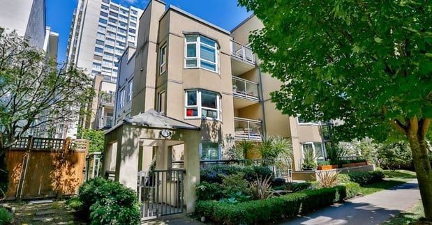 "Main Photo: 103 1835 BARCLAY Street in Vancouver: West End VW Condo for sale in ""WEST END"" (Vancouver West)  : MLS®# R2250404"