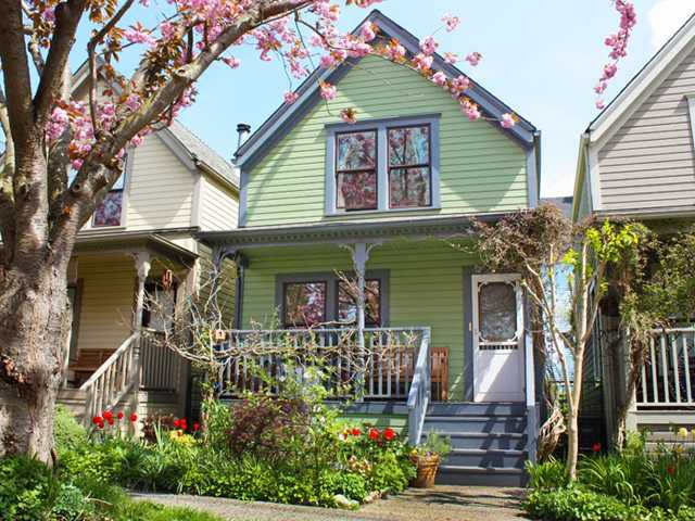 Main Photo: 512 HAWKS Avenue in Vancouver: Mount Pleasant VE House for sale (Vancouver East)  : MLS®# V898069