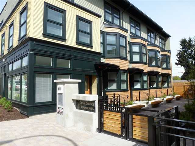 Main Photo: 1777 E 20TH AV in Vancouver: Victoria VE Condo for sale (Vancouver East)  : MLS®# V1005113