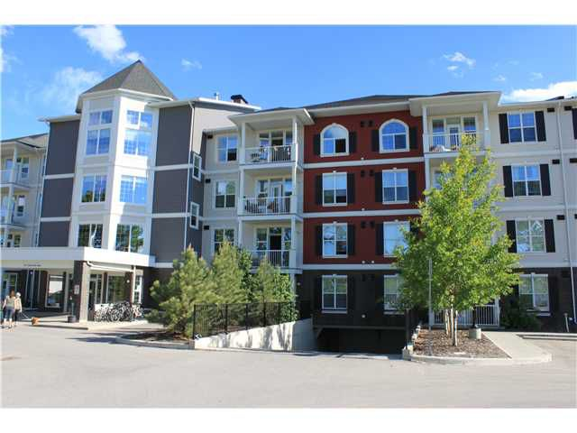Main Photo: 410 1 CRYSTAL GREEN Lane: Okotoks Condo for sale : MLS®# C3623102