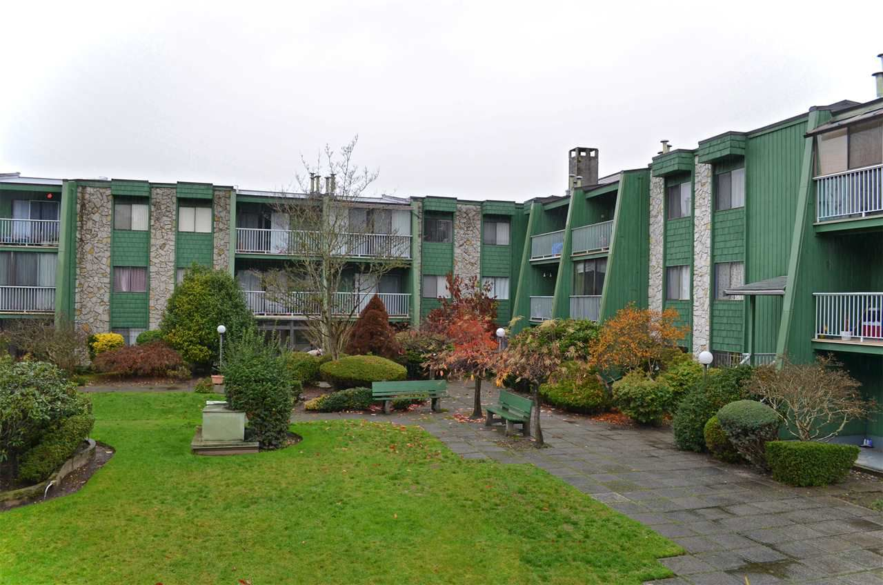 """Main Photo: 101 9202 HORNE Street in Burnaby: Government Road Condo for sale in """"LOUGHEED ESTATES"""" (Burnaby North)  : MLS®# R2015732"""