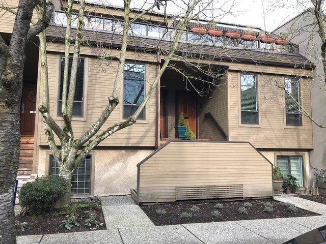"Main Photo: 1183 W 7TH Avenue in Vancouver: Fairview VW Townhouse for sale in ""Marina Place"" (Vancouver West)  : MLS®# R2136869"