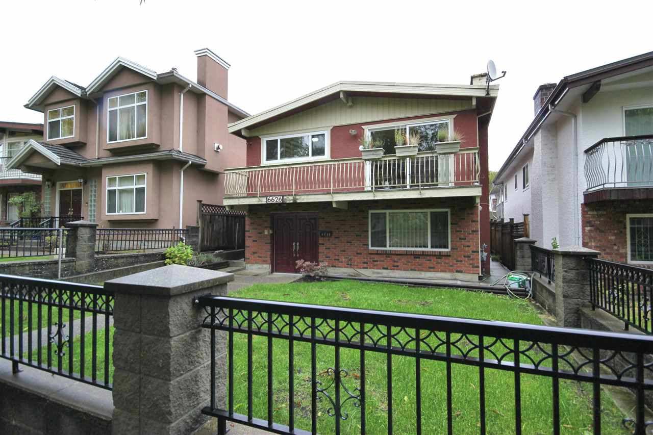 """Main Photo: 6626 INVERNESS Street in Vancouver: South Vancouver House for sale in """"SOUTH VANCOUVER"""" (Vancouver East)  : MLS®# R2216679"""