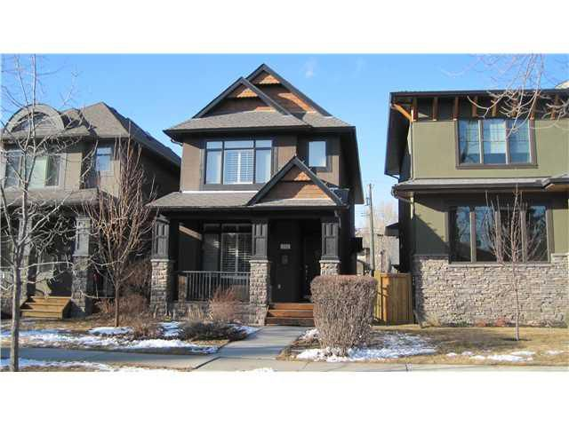 Main Photo: 1712 7 Avenue NW in Calgary: Hillhurst House for sale : MLS®# C3513860