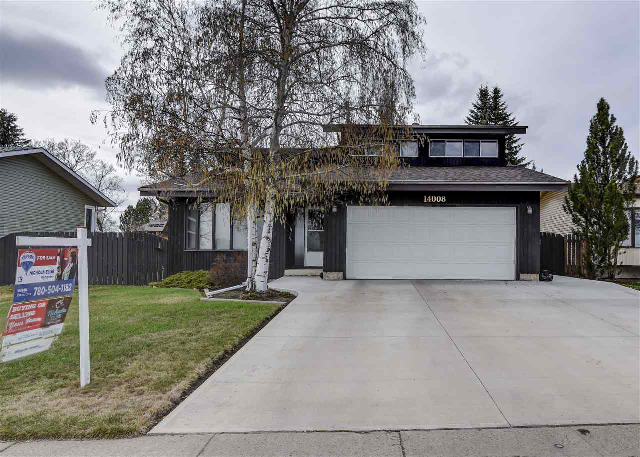 Main Photo: 14008 20 Street in Edmonton: Zone 35 House for sale : MLS®# E4139834