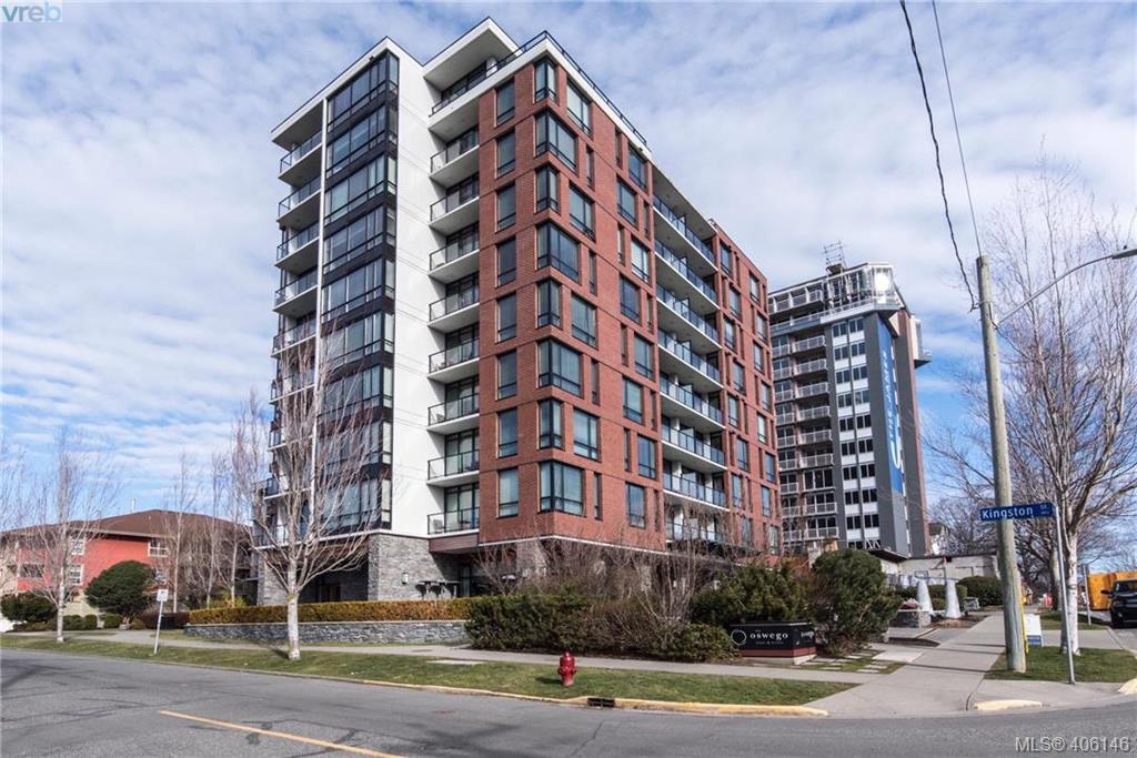 Main Photo: 406 500 Oswego Street in VICTORIA: Vi James Bay Condo Apartment for sale (Victoria)  : MLS®# 406146