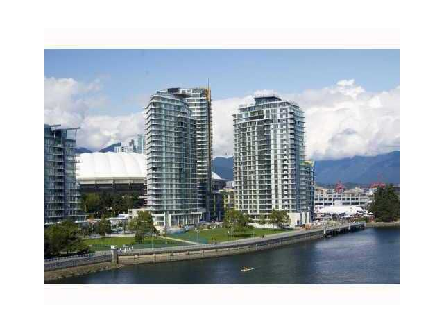 "Main Photo: 1203 918 COOPERAGE Way in Vancouver: False Creek North Condo for sale in ""MARINER"" (Vancouver West)  : MLS®# V874326"