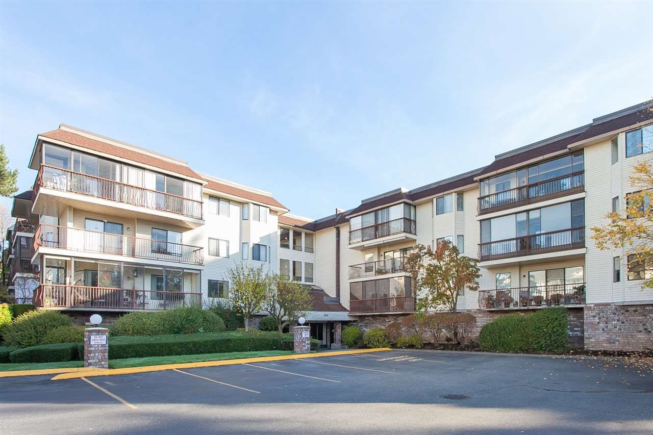 "Main Photo: 106 2414 CHURCH Street in Abbotsford: Abbotsford West Condo for sale in ""Autumn Terrace"" : MLS®# R2008115"