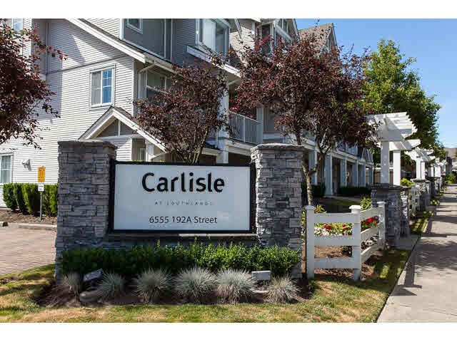 """Main Photo: 44 6555 192A Street in Surrey: Clayton Townhouse for sale in """"The Carlisle"""" (Cloverdale)  : MLS®# R2037162"""