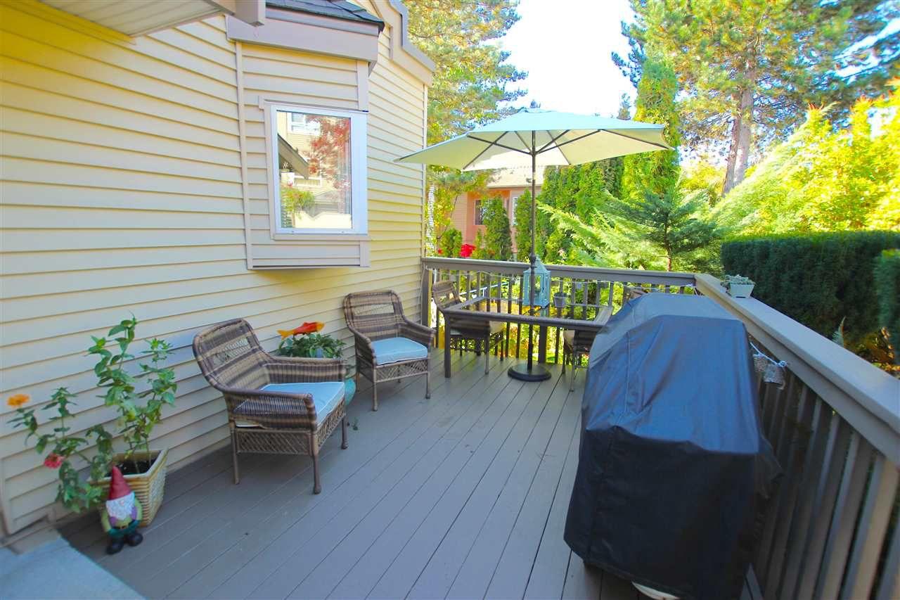 "Main Photo: 412 1215 LANSDOWNE Drive in Coquitlam: Upper Eagle Ridge Townhouse for sale in ""SUNRIDGE ESTATES"" : MLS®# R2126165"