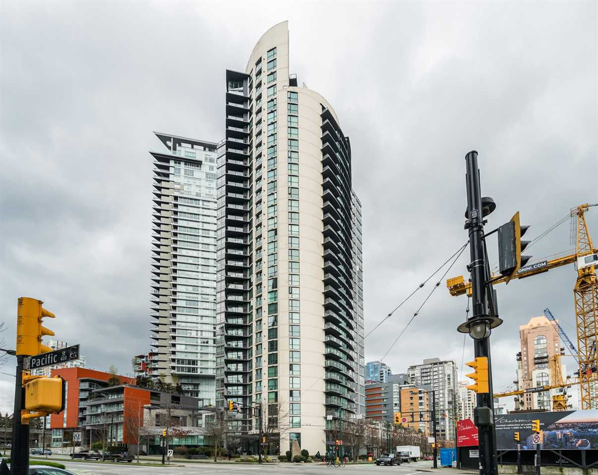 Main Photo: 606 501 PACIFIC Street in Vancouver: Downtown VW Condo for sale (Vancouver West)  : MLS®# R2143098