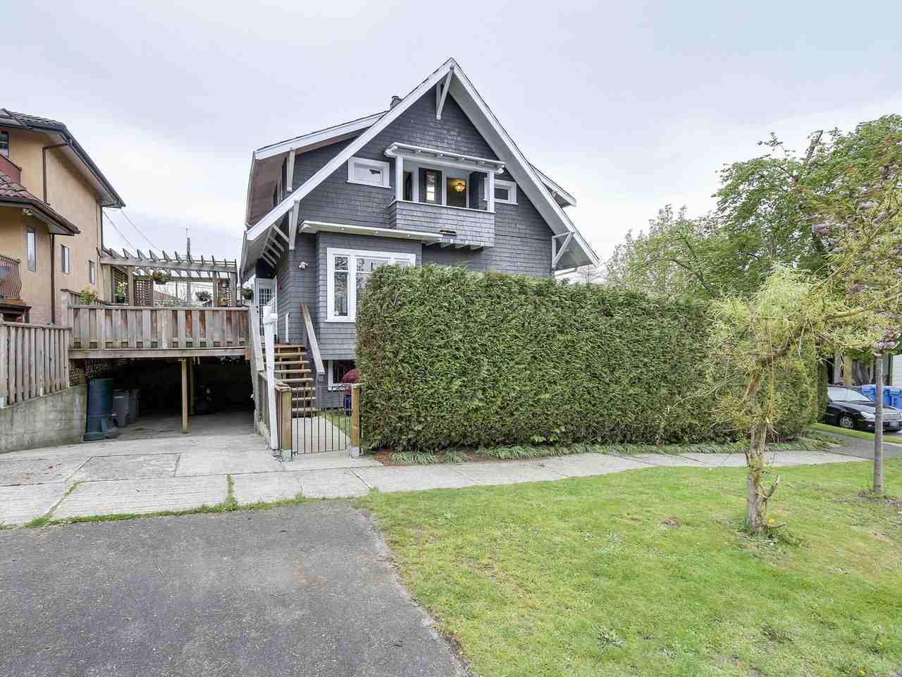 """Main Photo: 2046 STAINSBURY Avenue in Vancouver: Victoria VE House for sale in """"Trout Lake"""" (Vancouver East)  : MLS®# R2164595"""