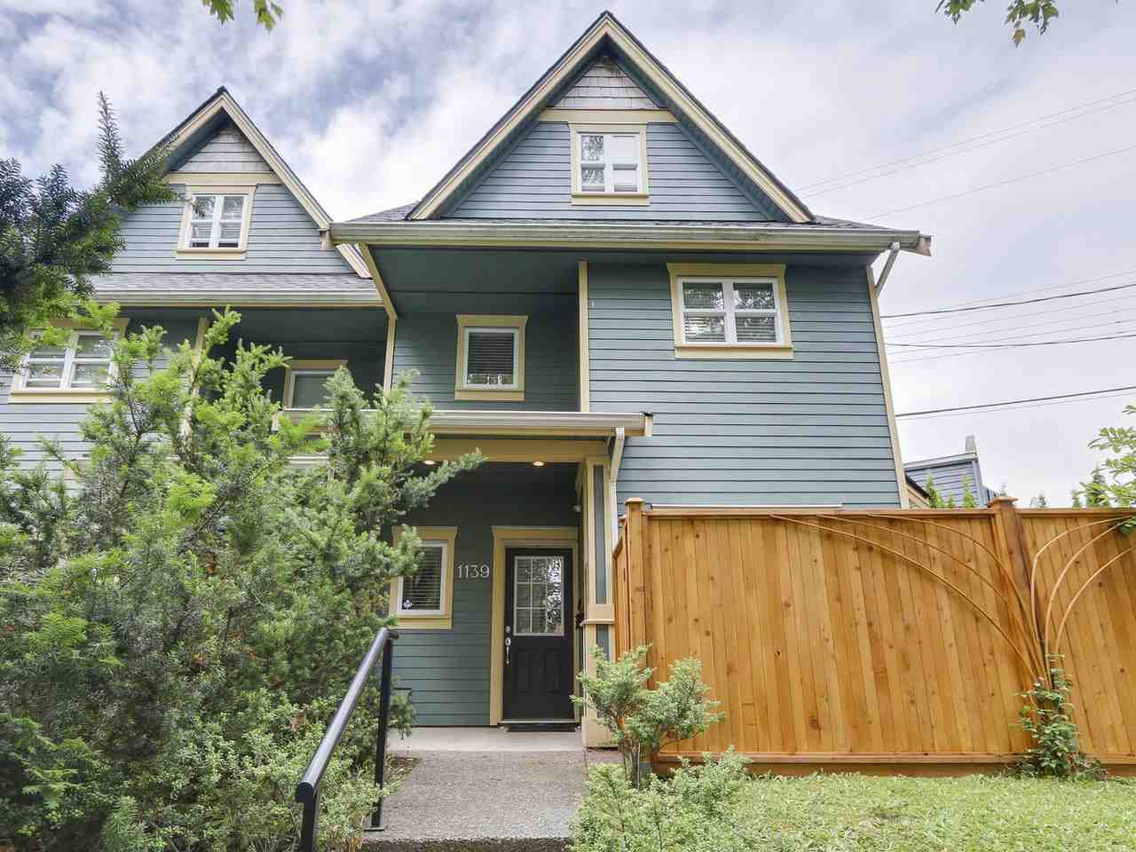 Main Photo: 1139 E 21ST Avenue in Vancouver: Knight House 1/2 Duplex for sale (Vancouver East)  : MLS®# R2180419