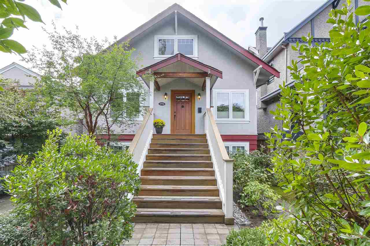 """Main Photo: 3756 W 19TH Avenue in Vancouver: Dunbar House for sale in """"DUNBAR"""" (Vancouver West)  : MLS®# R2208572"""