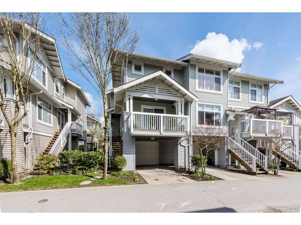 "Main Photo: 37 7179 201 Street in Langley: Willoughby Heights Townhouse for sale in ""DENIM"" : MLS®# R2258257"