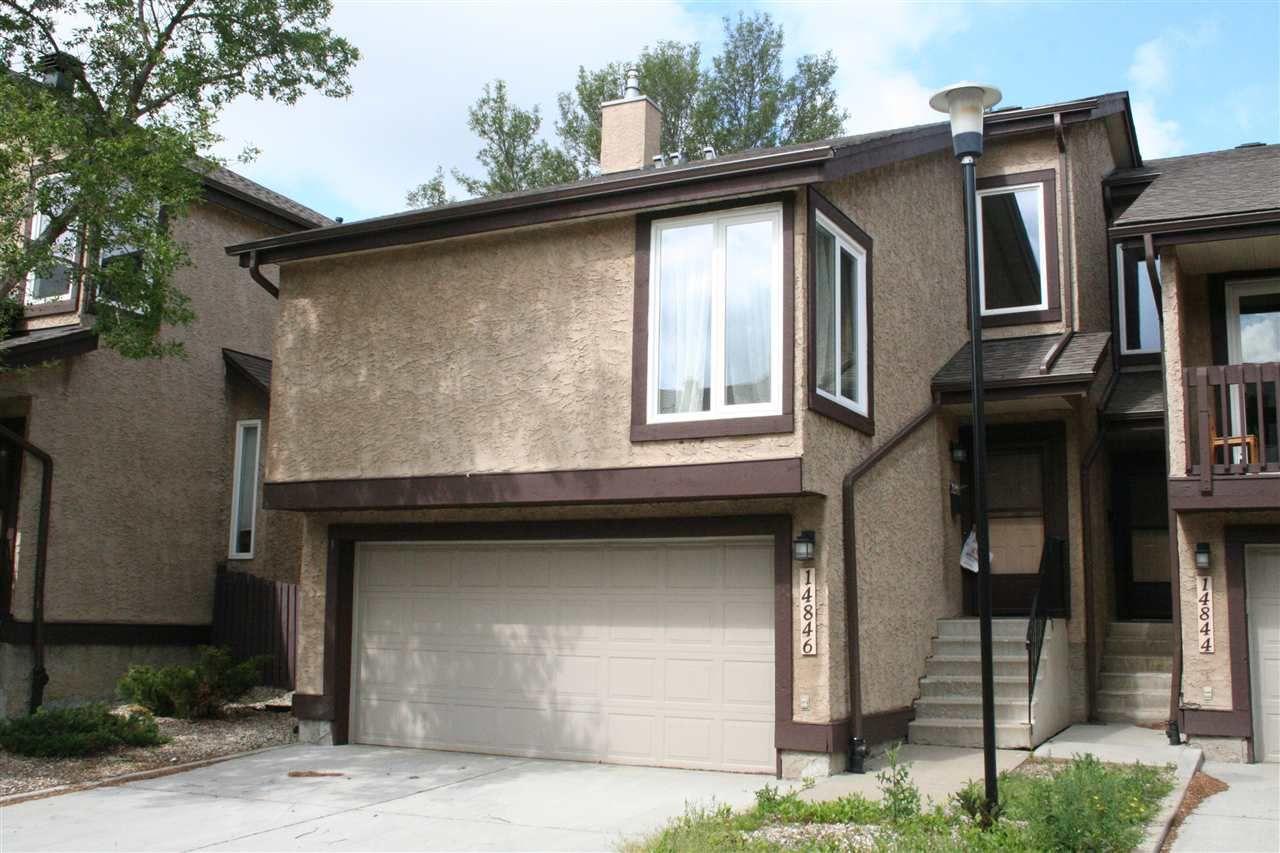 Main Photo: 14846 43 Avenue in Edmonton: Zone 14 Townhouse for sale : MLS®# E4119405