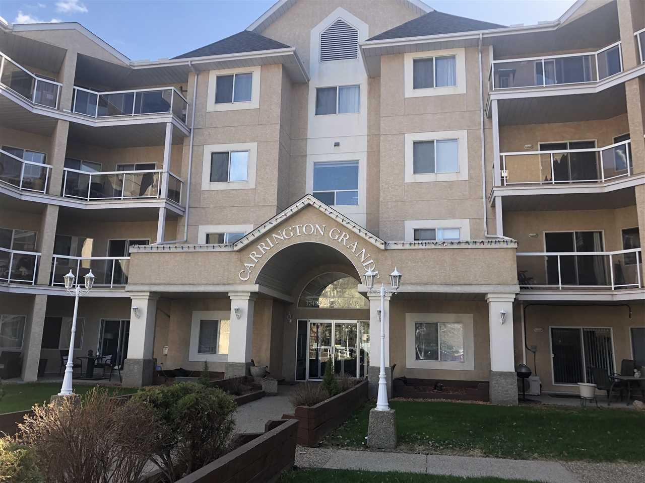 Main Photo: 216 17459 98A Avenue in Edmonton: Zone 20 Condo for sale : MLS®# E4143209