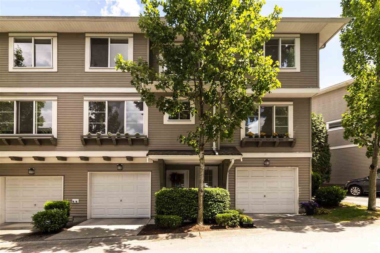 "Main Photo: 11 15155 62A Avenue in Surrey: Sullivan Station Townhouse for sale in ""OAKLANDS"" : MLS®# R2381646"