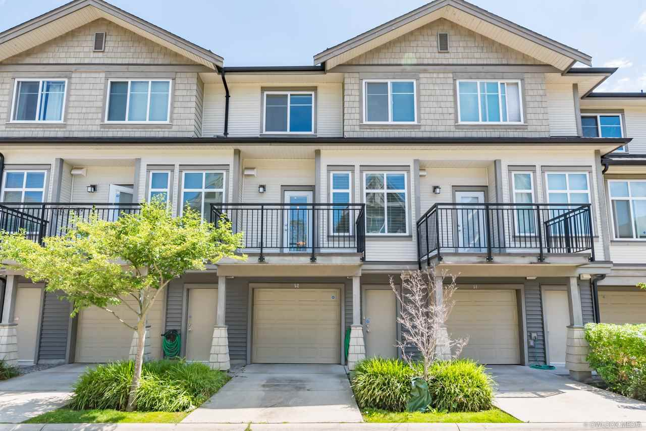 Main Photo: 52 9800 ODLIN Road in Richmond: West Cambie Townhouse for sale : MLS®# R2385361
