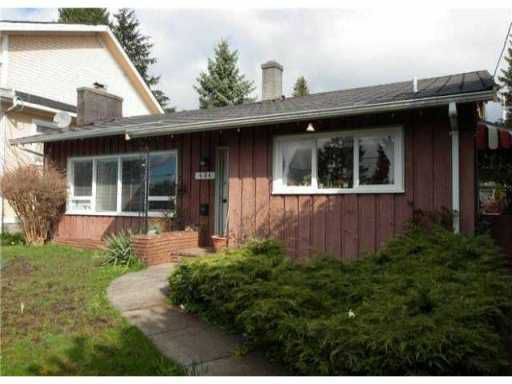 Main Photo: 454 E KEITH RD in North Vancouver: Central Lonsdale House for sale : MLS®# V1028850