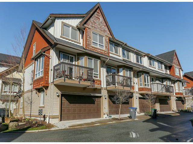 "Main Photo: 85 7155 189TH Street in Surrey: Clayton Townhouse for sale in ""BACARA"" (Cloverdale)  : MLS®# F1405846"