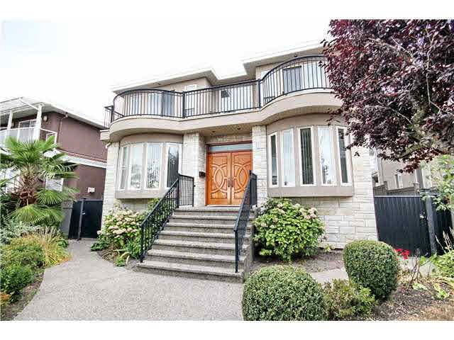 "Main Photo: 1727 PRESTWICK Drive in Vancouver: Fraserview VE House for sale in ""FRASERVIEW"" (Vancouver East)  : MLS®# V1139531"