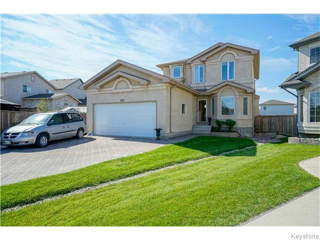 Main Photo: 352 Golden Eagle Drive in WINNIPEG: East Kildonan Residential for sale (North East Winnipeg)  : MLS®# 1525380
