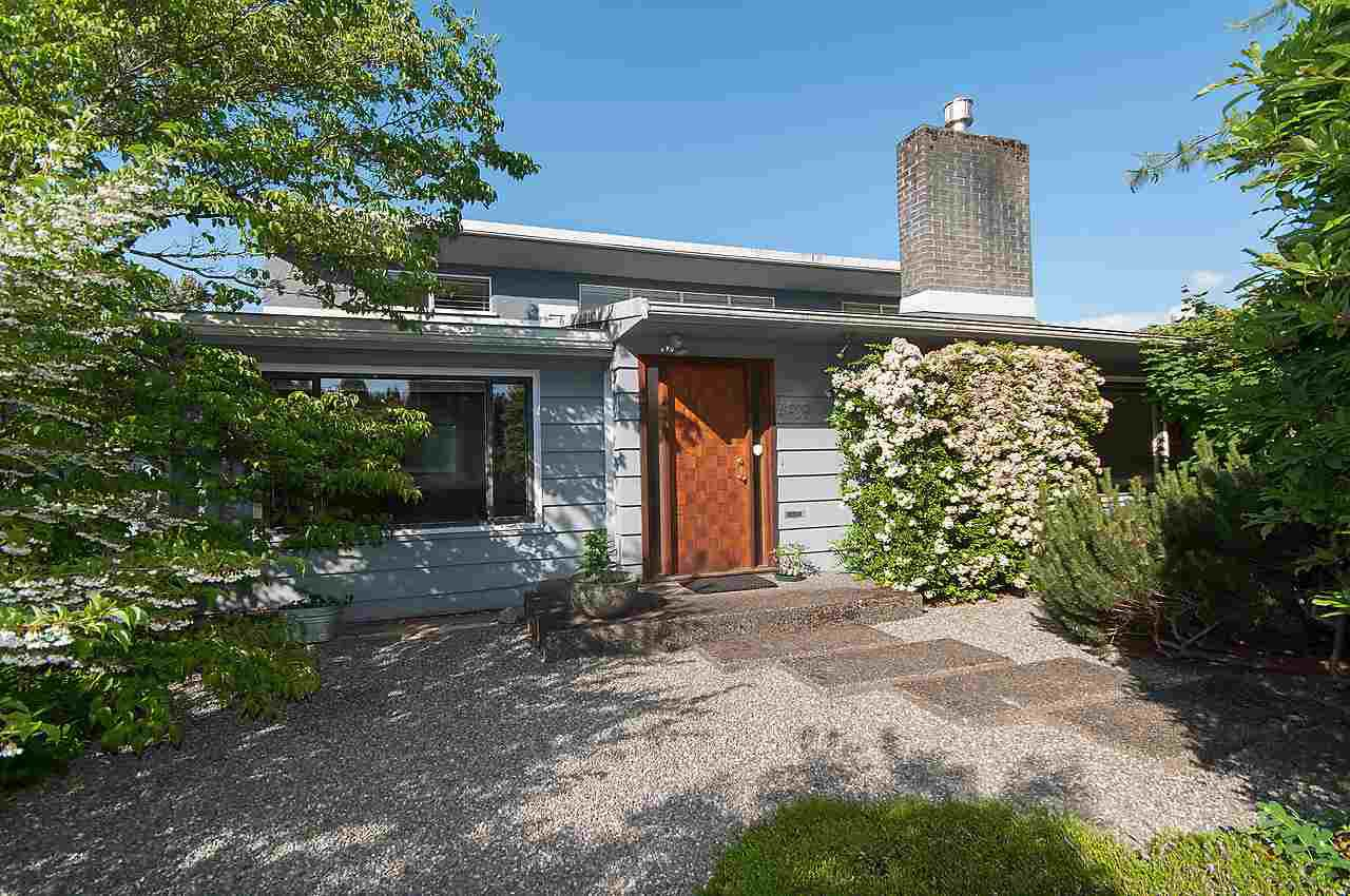 """Main Photo: 4959 WYCLIFFE Road in Vancouver: University VW House for sale in """"LITTLE AUSTRALIA"""" (Vancouver West)  : MLS®# R2073764"""