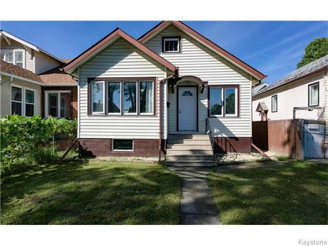 Main Photo: 502 Garlies Street in Winnipeg: Sinclair Park Residential for sale (4C)  : MLS®# 1625484