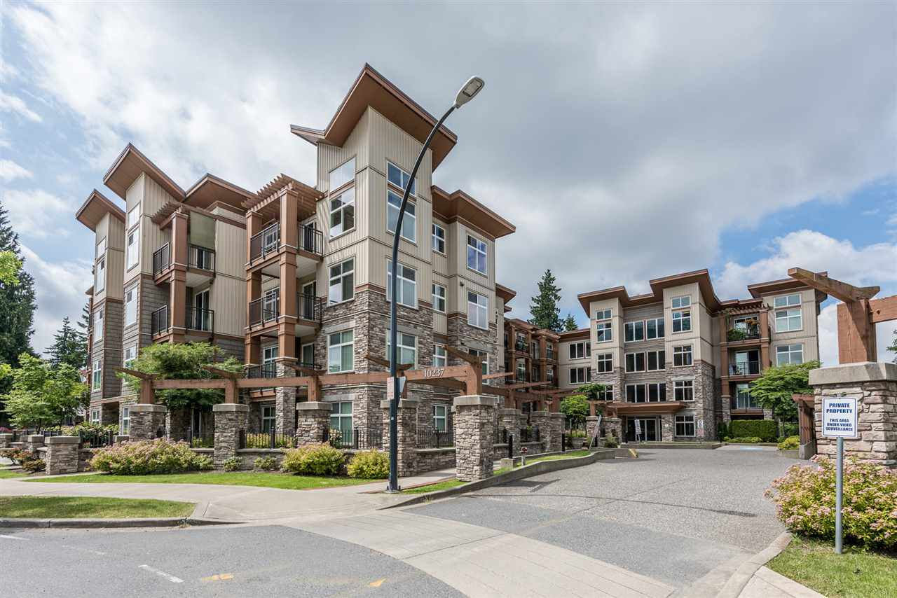 "Main Photo: 414 10237 133 Street in Surrey: Whalley Condo for sale in ""ETHICAL GARDENS"" (North Surrey)  : MLS®# R2182809"