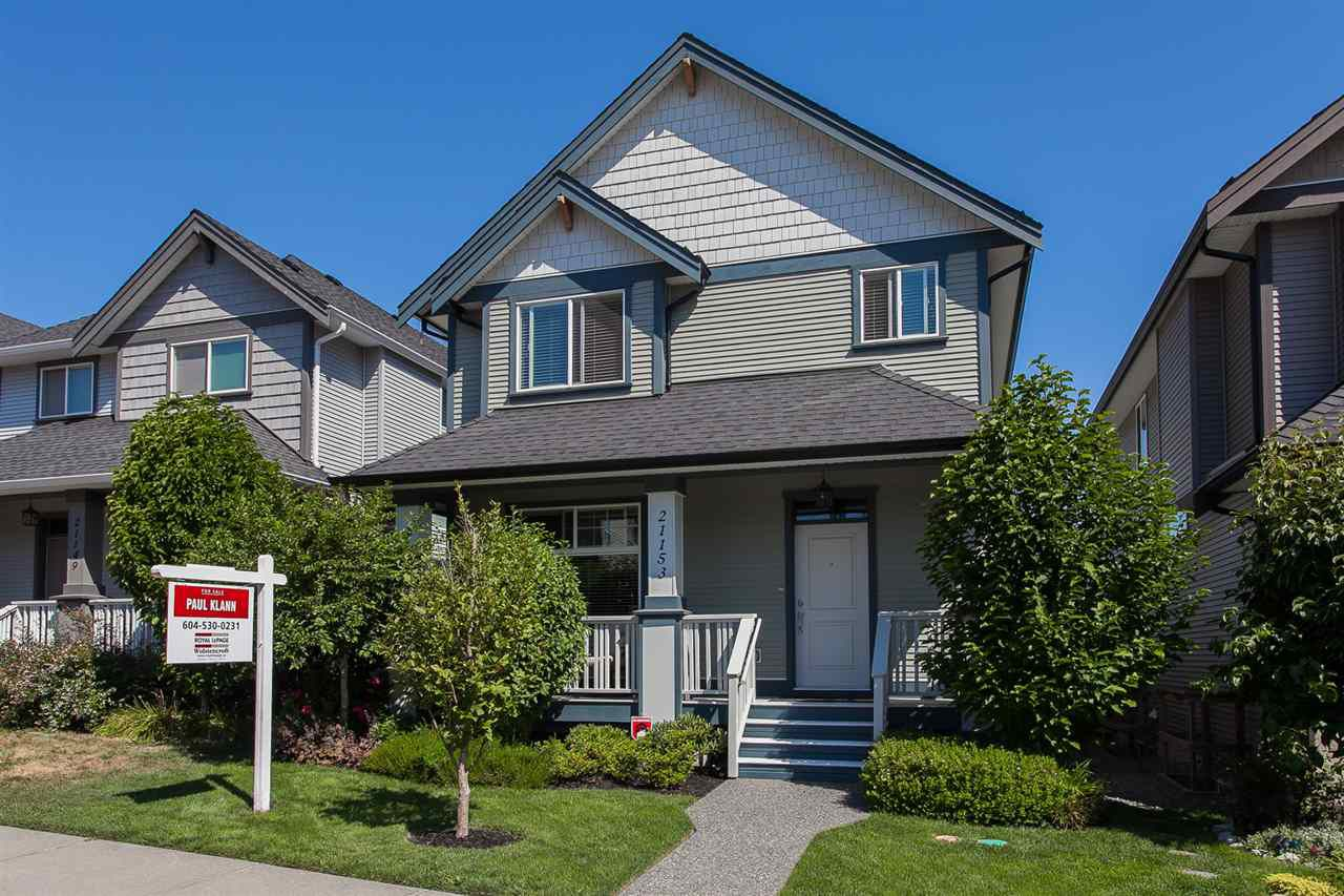 """Main Photo: 21153 79A Avenue in Langley: Willoughby Heights House for sale in """"Yorkson South"""" : MLS®# R2191756"""