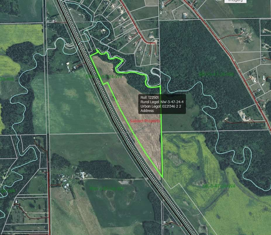 Main Photo: Highway 2A: Rural Wetaskiwin County Rural Land/Vacant Lot for sale : MLS®# E4086186
