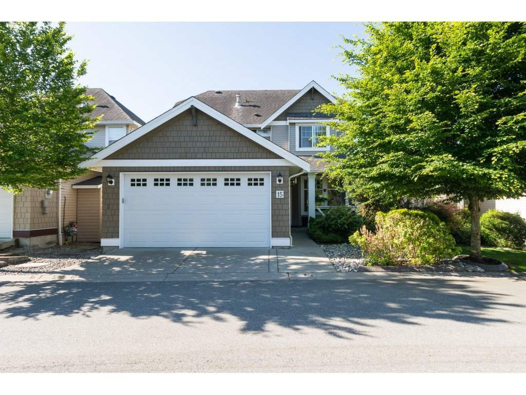 Main Photo: 15 7067 189 STREET in Surrey: Clayton House for sale (Cloverdale)  : MLS®# R2183316