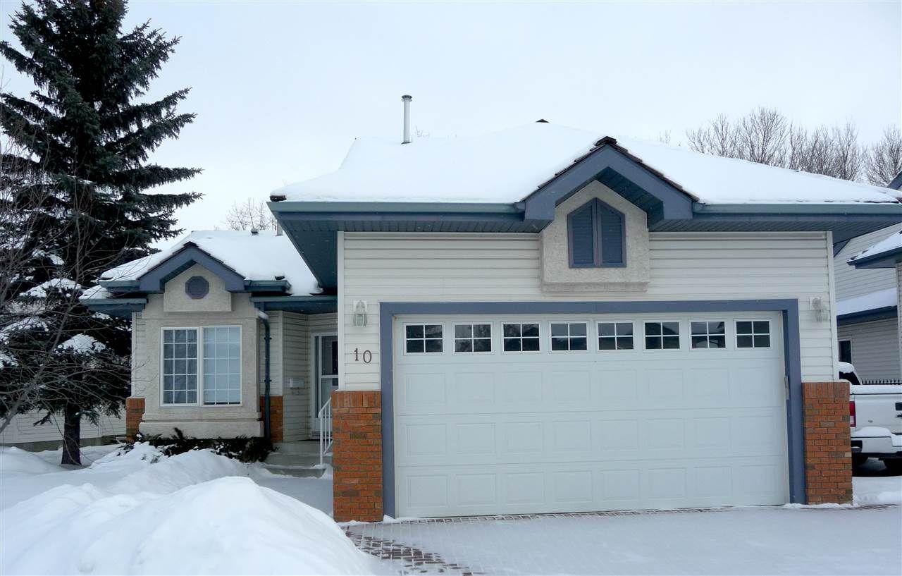 Main Photo: 10 BLACKBURN Drive W in Edmonton: Zone 55 Condo for sale : MLS®# E4143238