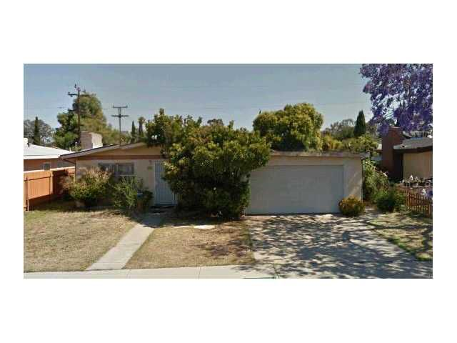 Main Photo: EL CAJON House for sale : 3 bedrooms : 600 E Madison Avenue